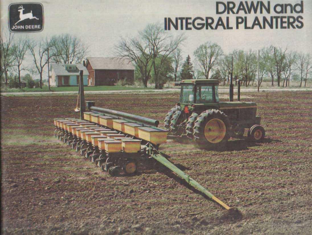 John Deere Drawn and Integral Planter Brochure