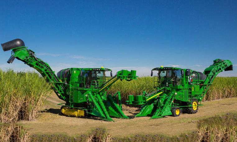 Sugarcane Harvester CH 570 - Africa