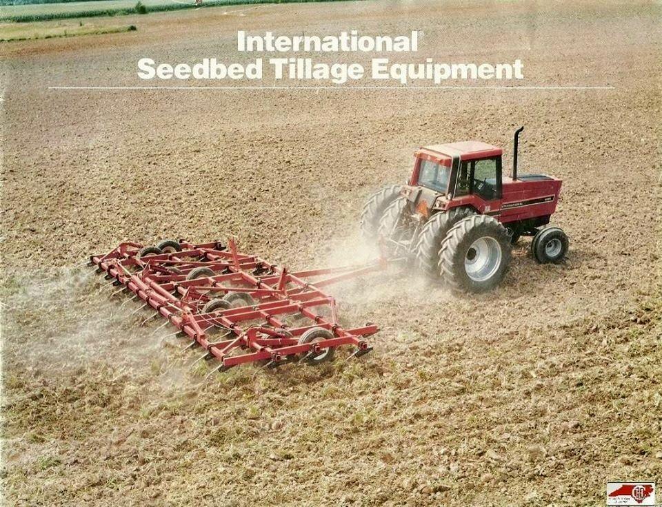 IH Seedbed Tillage Equipment Ad | Vintage farm equipment ...