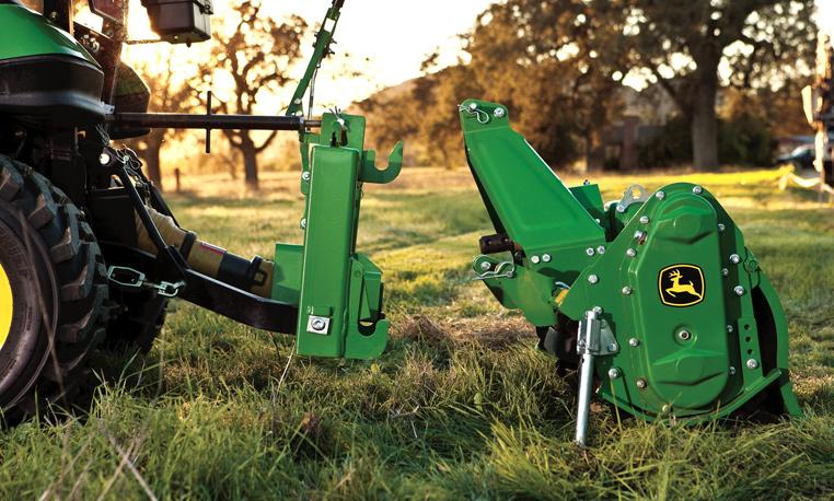 John Deere Utility Tractor Attachments Tillage