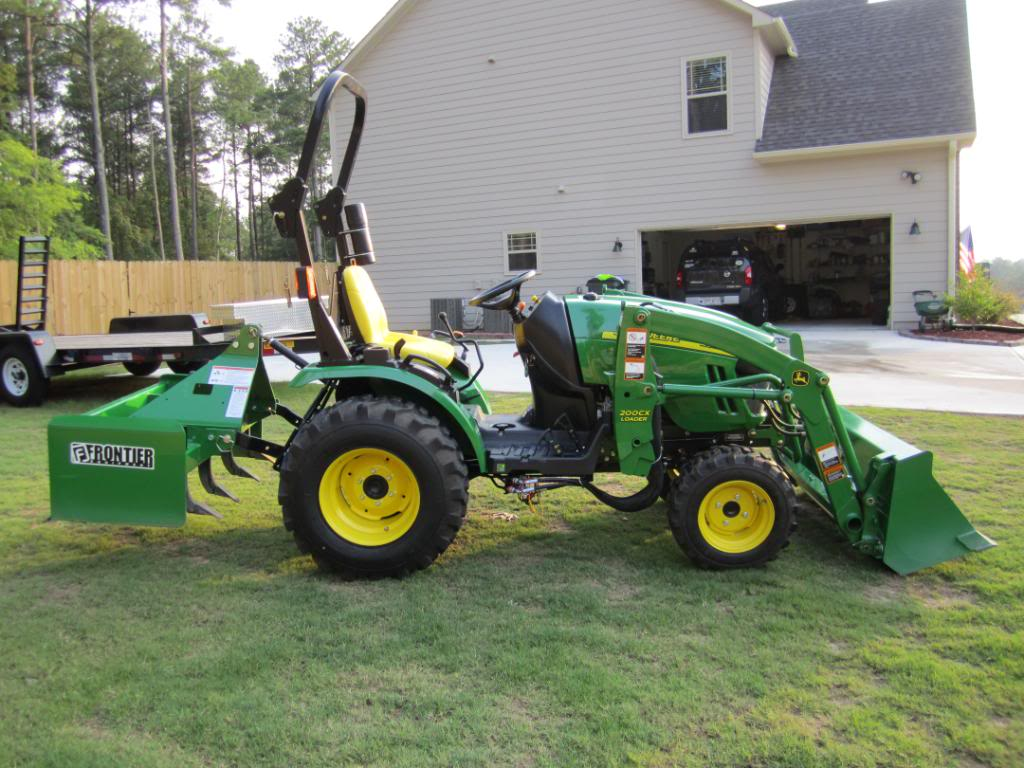 John Deere 2320 Compact Utility Tractor with attachments