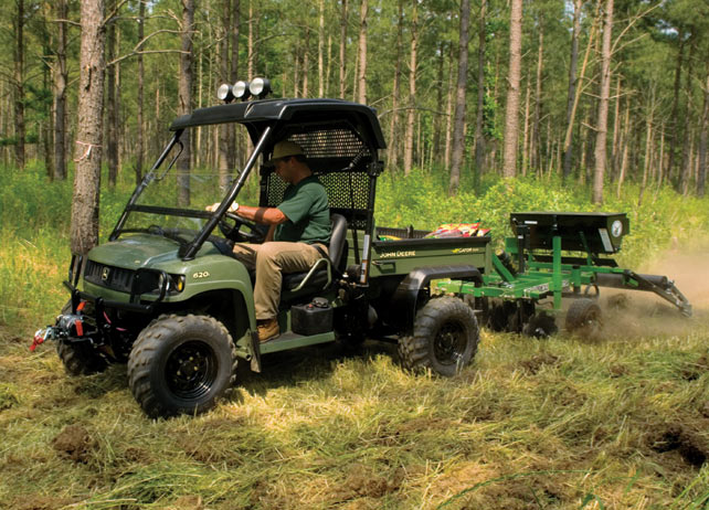 John Deere Gator Utility Vehicle Attachments on JohnDeere.ca