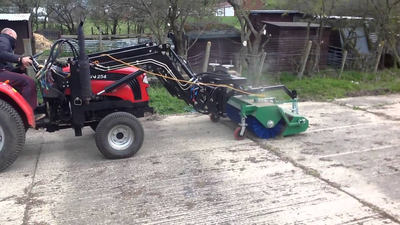 Foton Compact Tractor Attachments - Front Mounted Brush ...