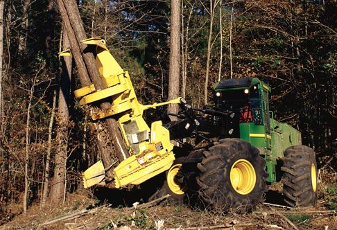 John Deere FD22B Felling Heads Attachments & Working Tools