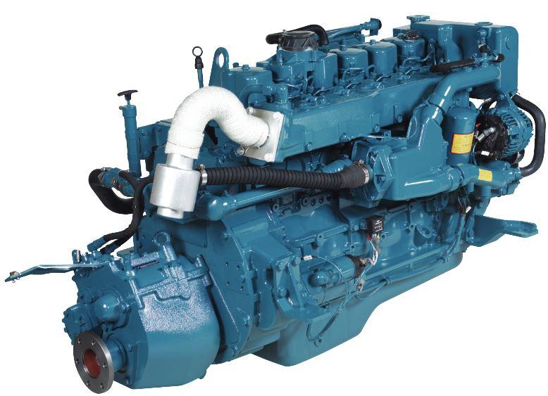 Yanmar 54HP 4JH5-E Marine Diesel Engine