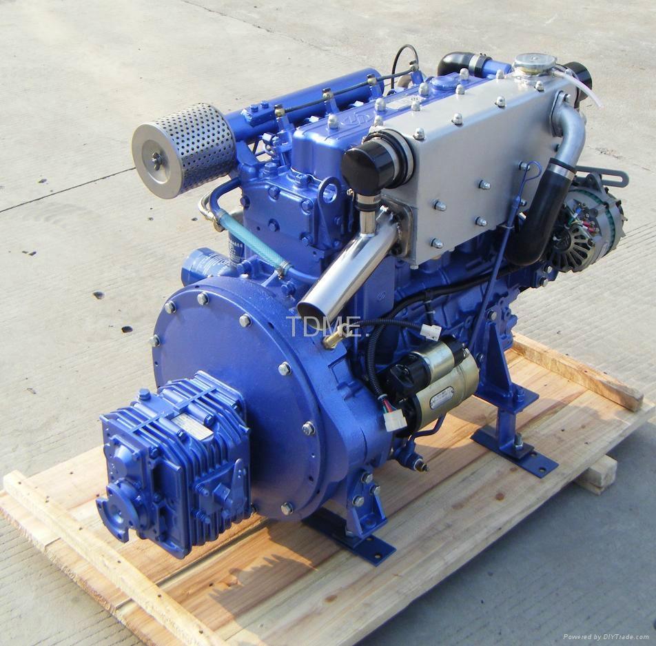 58Hp Inboard Marine Diesel Engine - TDME-490 - TDME (China ...