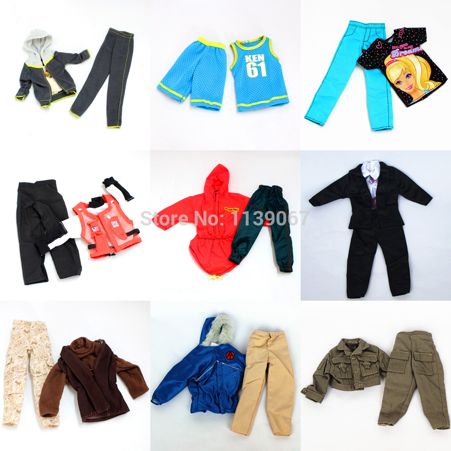 Aliexpress.com : Buy 3 sets Doll Outfit Plug Suit / Ball ...