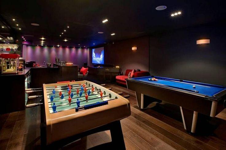 Luxury Man Cave ~ Game room ~ Bar | Man Caves ...