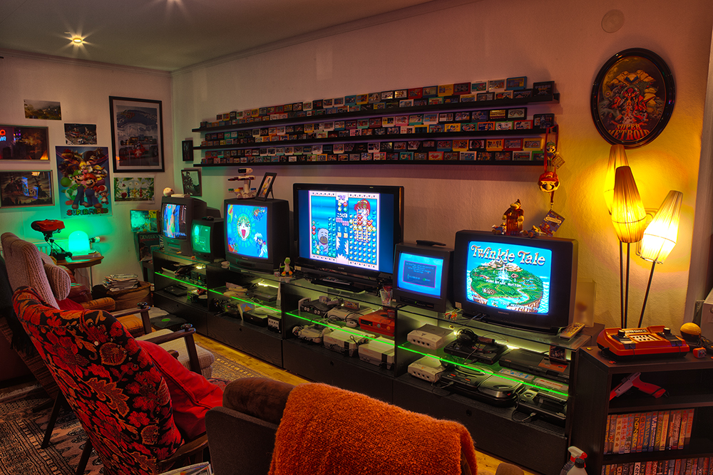 My Game Room and Collection 2014! | Retro Video Gaming