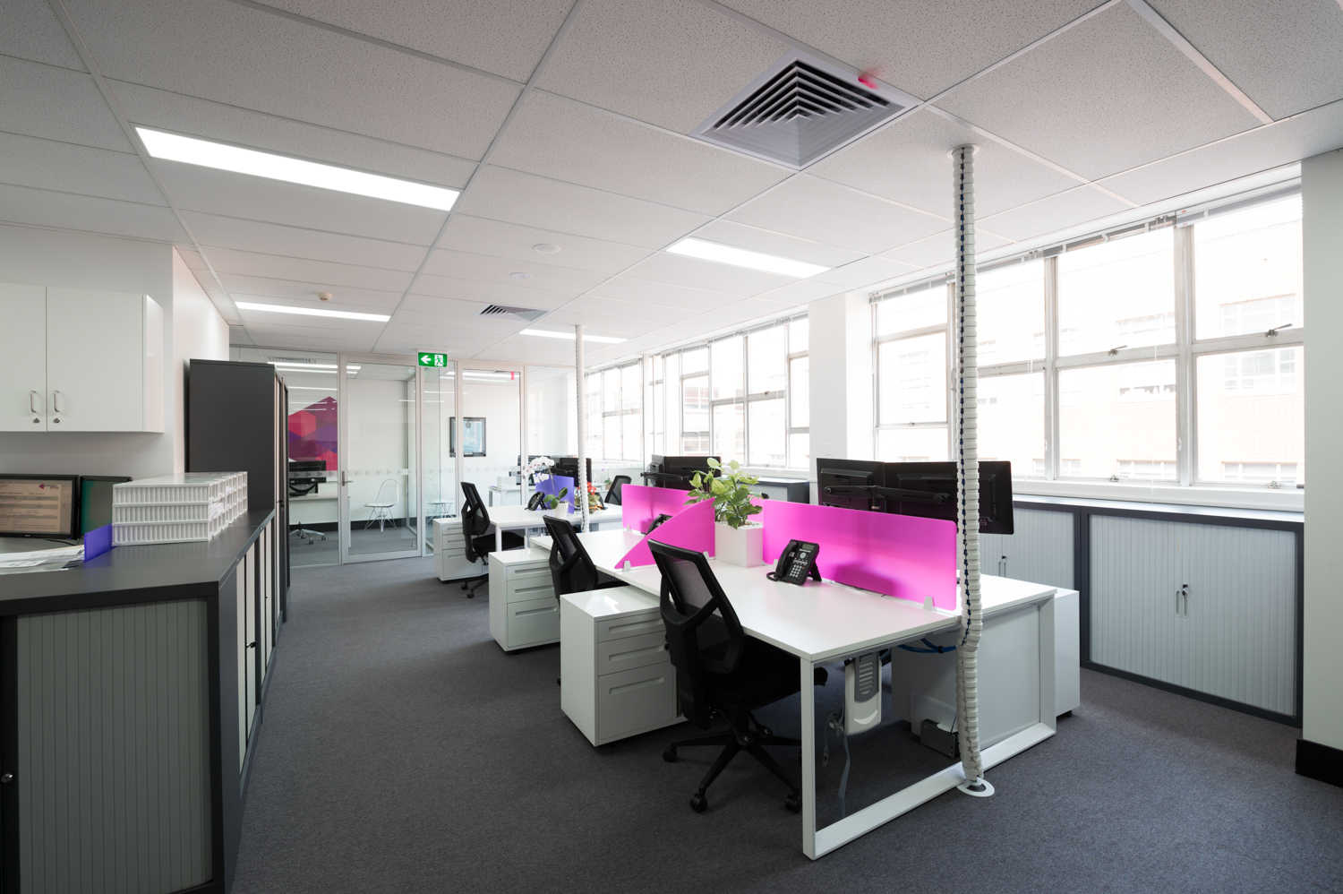 Office Workstation Design by Inspired Spaces at Premium Strata