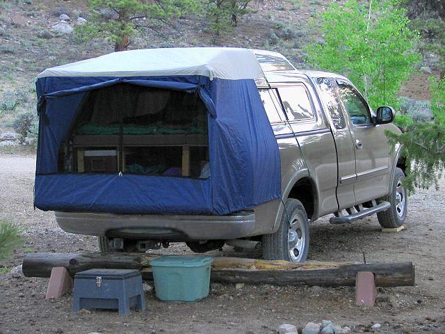 Tailgate Tent | Truck camping setups | Pinterest ...