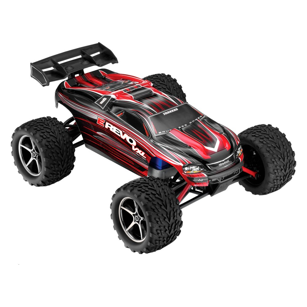 Traxxas® - Electric E-Revo VXL 1/16 Scale 4WD Brushless ...