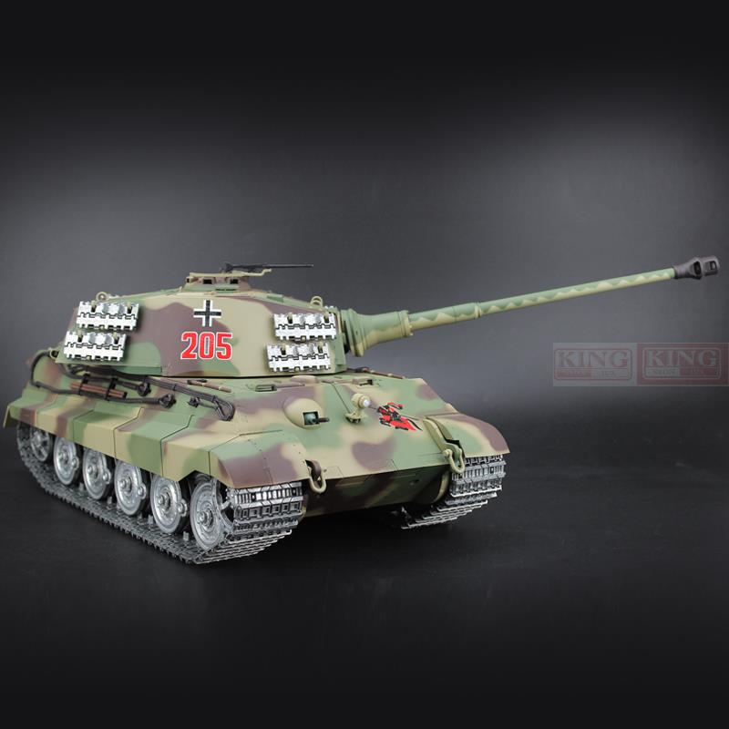 1/16 scale 2.4GHz R/C Battle Tank Henschel Turret German ...
