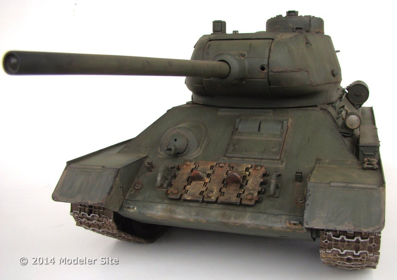 Trumpeter / WSN T-34/85 RC 1/16 scale - 1/16 Scale ...
