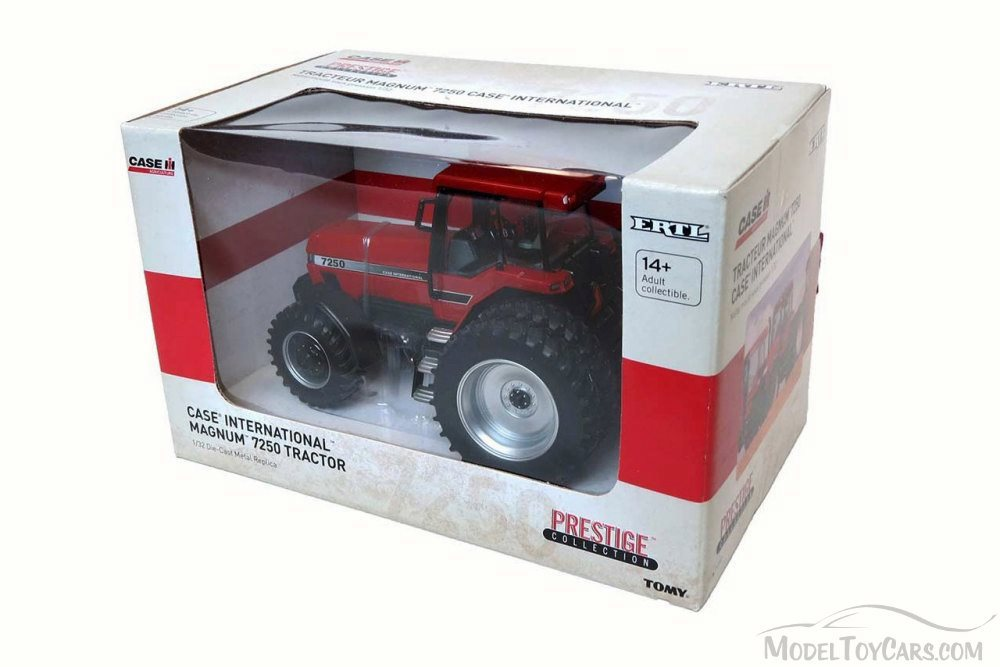 Farmall 806 Tractor, Red - TOMY 14926 - 1/32 Scale Diecast ...
