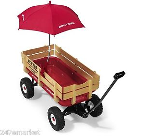 NEW! Radio Flyer Wagon Umbrella Attachable Tricycles Toy ...