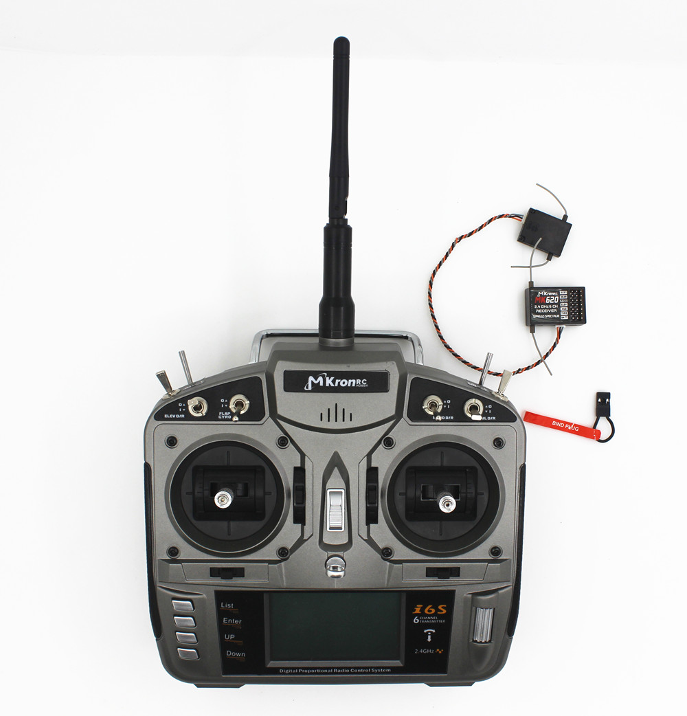 RC 2.4gh 6ch Radio remote control Transmitter with MK620 ...