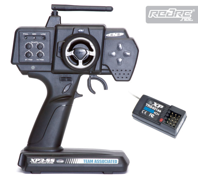 Red RC – RC Car News » Associated P3-SS 2.4GHz 3CH radio ...