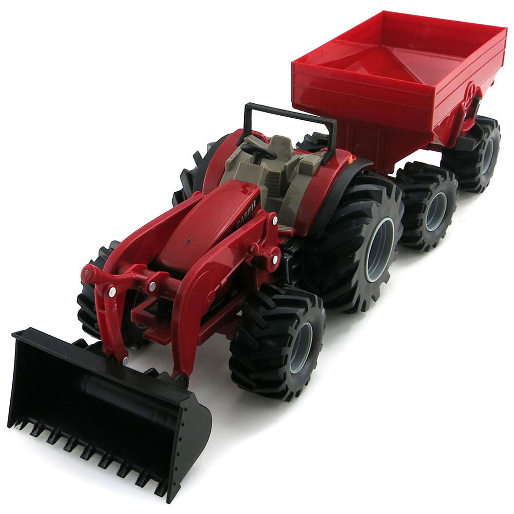 Case IH Monster Treads Tractor & Wagon - ShopCaseIH.com