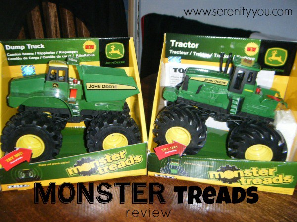 Tomy Monster Treads Review - Serenity You