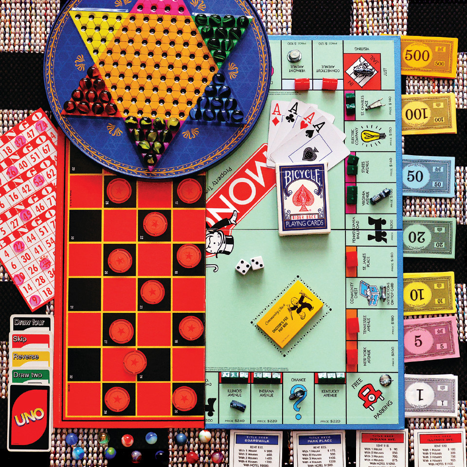 Board Games Jigsaw Puzzle | PuzzleWarehouse.com
