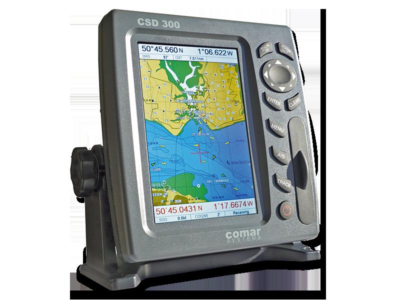 CSD300 AIS COLOUR DISPLAY RECEIVER - Comar Systems