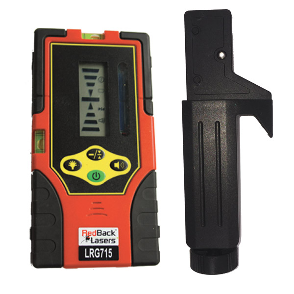 LRG715 - Dual Display Rotating Laser Receiver - Green Beam ...