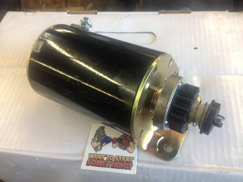 NEW STARTER MOTOR JOHN DEERE TRACTOR 1642G 1642H LT166 ...