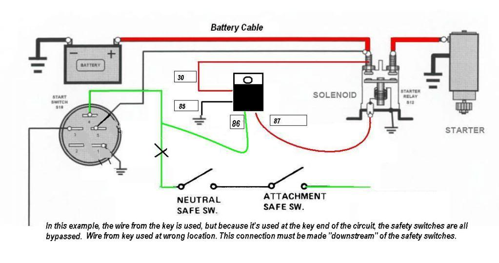Starter Assist Relay Assembly and Install - MyTractorForum ...