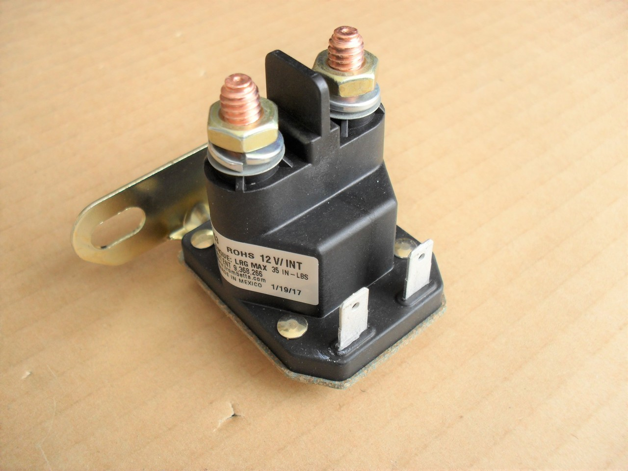 Starter Ignition Switch & Key John Deere L100 L105 L107 ...