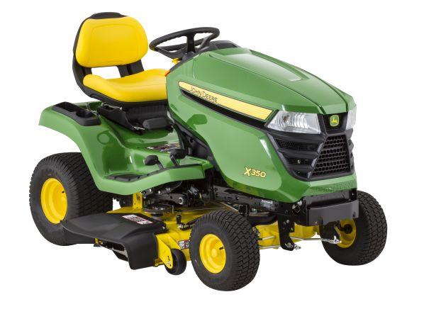 John Deere X350-42 riding lawn mower & tractor - Consumer ...
