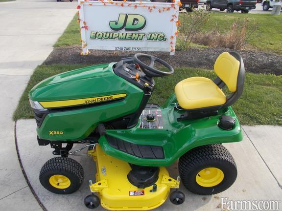 John Deere 2018 X350 Riding Lawn Mowers for Sale ...
