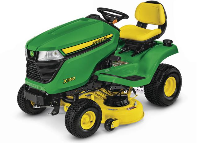 X300 Select Series Lawn Tractor   X350, 42-in. Deck   John ...