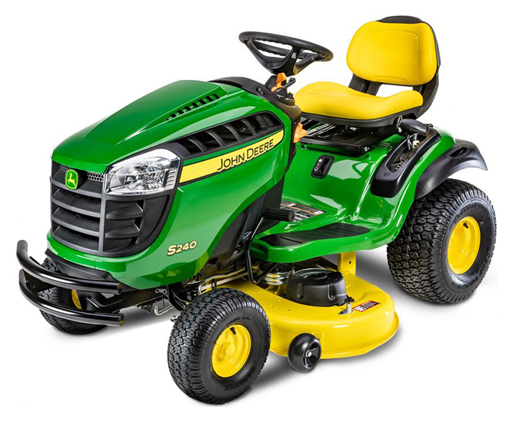 New 2019 John Deere S240 Tractor with 42 in. Deck Lawn ...