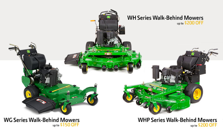 Commercial Mowers | Walk Behind Mowers | John Deere US