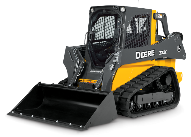Compact Track Loader with best-in-class visibility | 323E | John Deere ...