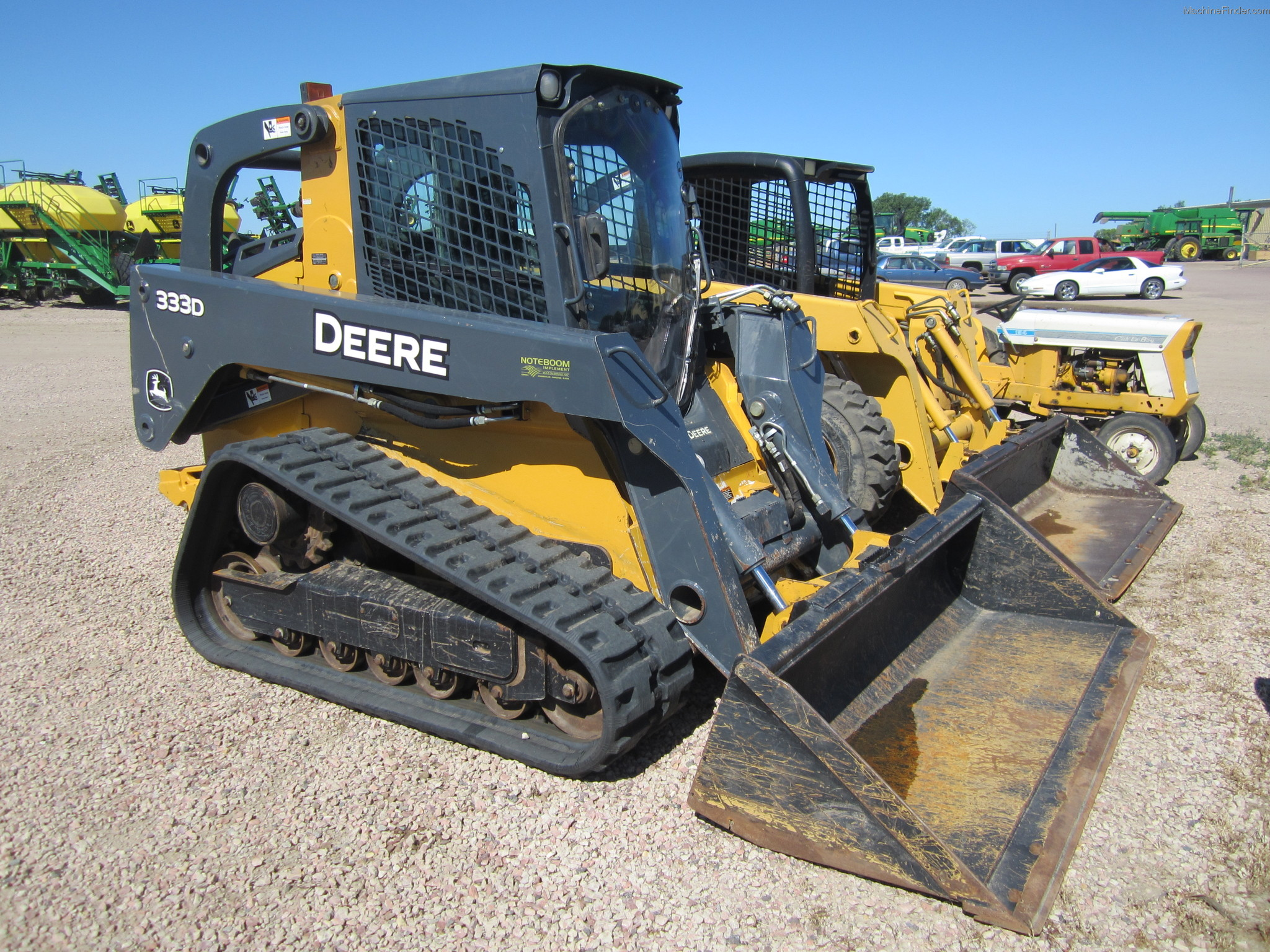 2011 John Deere CT333D Compact Track Loader - John Deere MachineFinder
