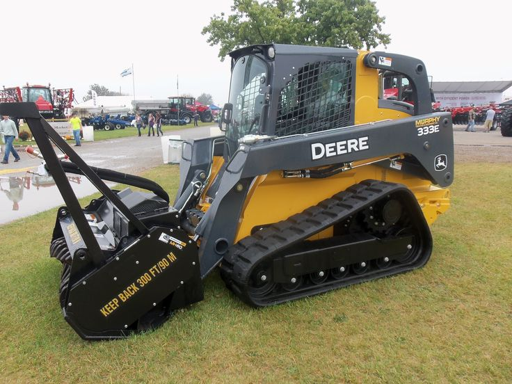 John Deere compact track loader | JD construction equipment | Pintere ...