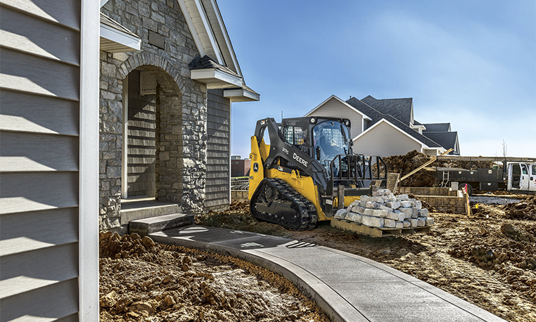 Compact Track Loaders | E-Series | John Deere US