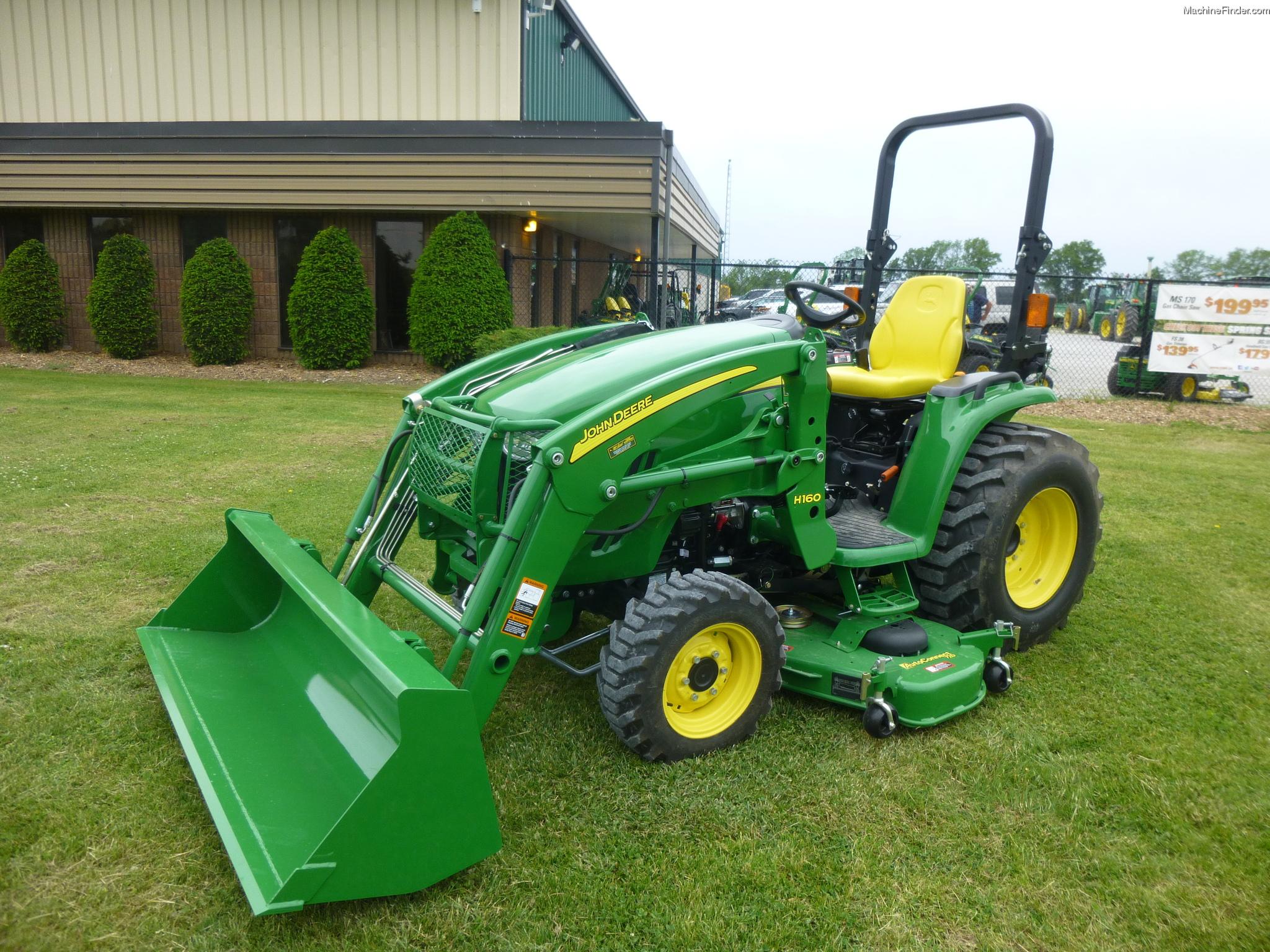 John Deere 3320 w/H160 & 72D Tractors - Compact (1-40hp.) - John Deere ...