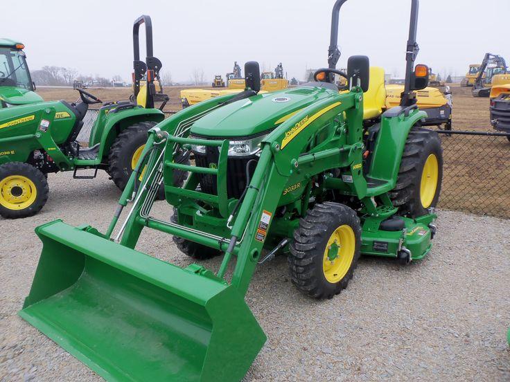 John Deere 3033R with H160 loader | John Deere equipment | Pinterest ...