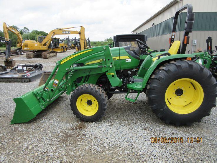 JOhn Deere 4105 equipped H160 loader | John Deere equipment ...