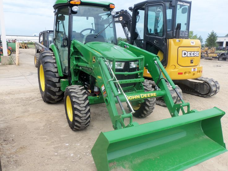 New John Deere 4066R with H180 loader   John Deere equipment ...