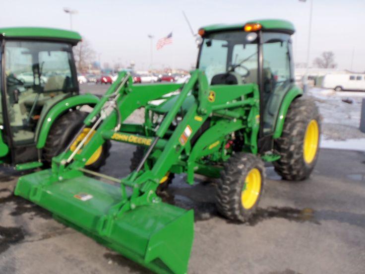 John Deere 4052R with H180 loader   John Deere equipment   Pinterest ...