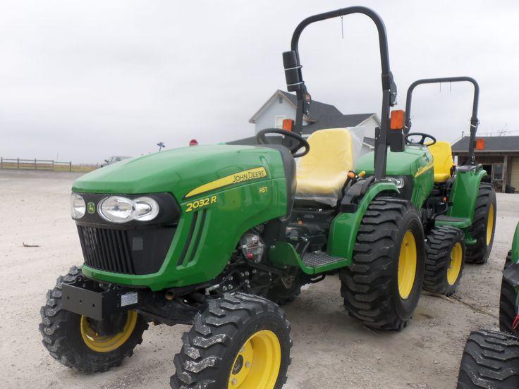 John Deere 2032R compact diesel tractor   Tractors   Pinterest