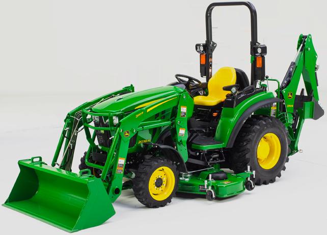 Compact Tractors | 2038R Compact Tractor | John Deere US