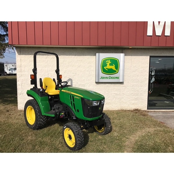 HOME Compact Utility Tractors John Deere 2038R Compact Utility Tractor