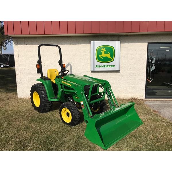 HOME Compact Utility Tractors John Deere 3025E Compact Utility Tractor ...