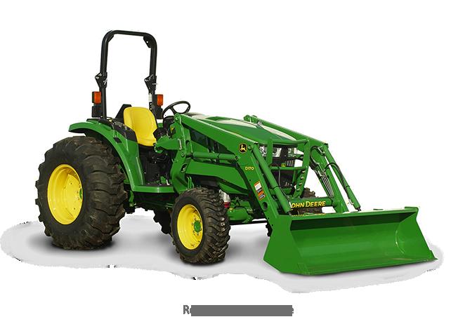 Compact Tractors   4044M Compact Utility Tractor   John Deere US