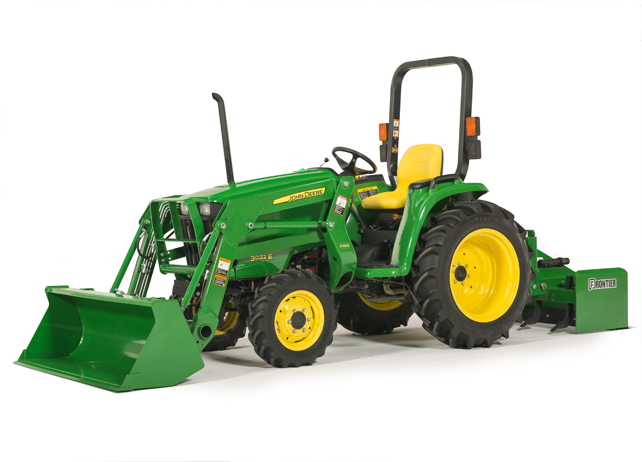 John Deere 3032E Compact Utility Tractor 3000 Series Compact Utility ...